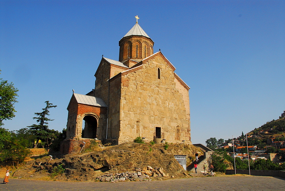 Metechi Church, Tbilisi, Georgia, Asia