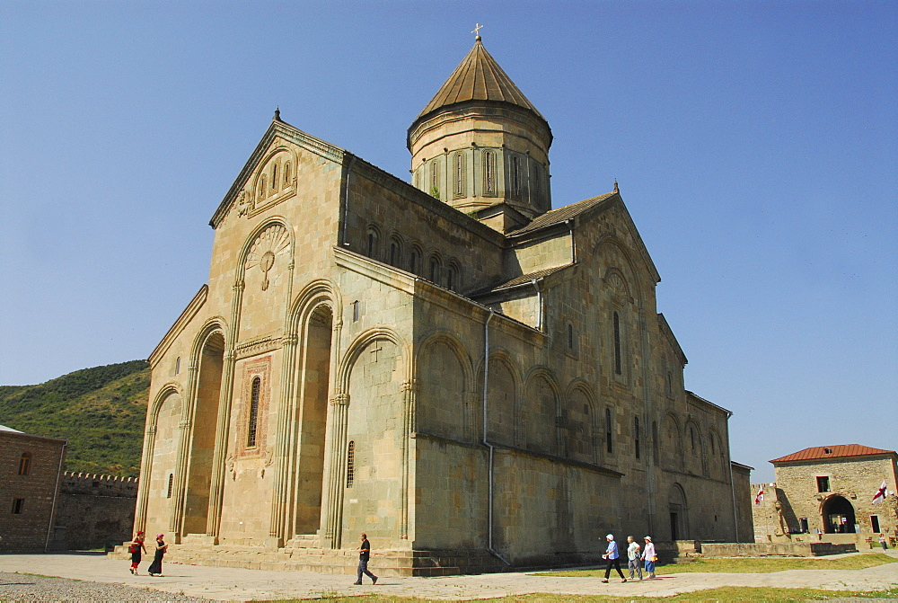 Sweti Zchoweli Church (Unesco World Heritage Site), Mzcheta, Georgia, Asia