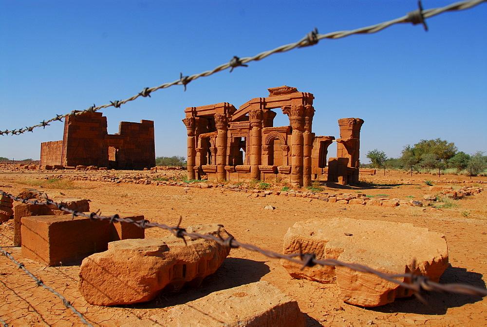 Roman kiosk, Naga, Sudan, Africa