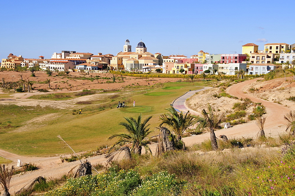 Real de Faula Golf Club near Benidorm, Costa Blanca, Spain