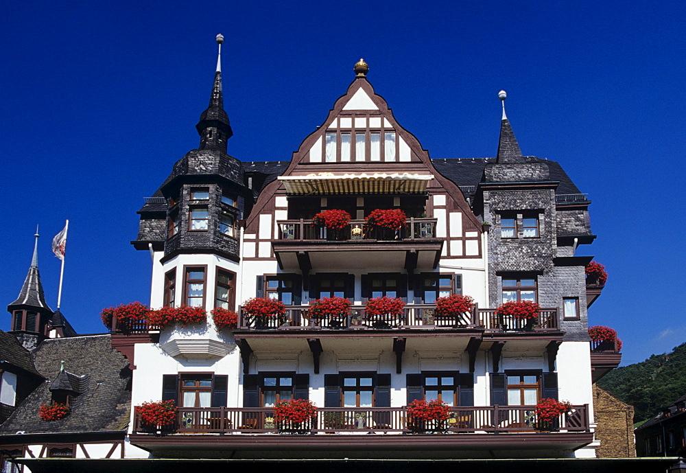 Hotel Krone in Assmannshausen, Hesse, Rheingau Region, Germany