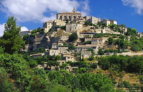 Skyline of Gordes, France, Provence