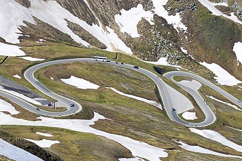 Grossglockner High Alpine Road, Hohe Tauern National Park, Salzburg, Austria, Europe
