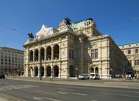 Vienna Opera House, Austria, Vienna, Europe