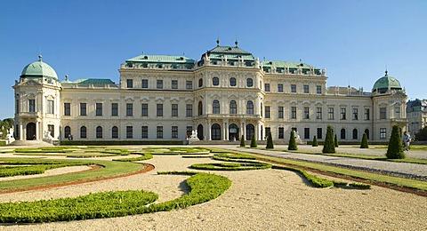 Belvedere Castle, Vienna, Austria, Europe