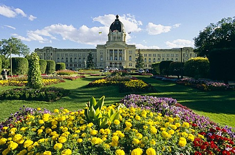 Legislative building in Regina, Saskatchewan, Canada