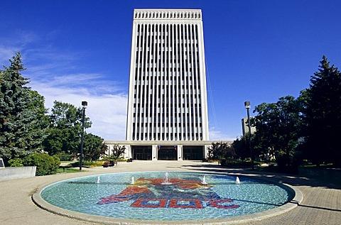 City hall of Regina, Saskatchewan, Canada
