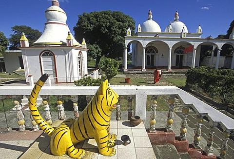 Temple hindu in Triolet, Mauritius