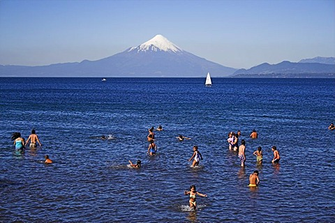 Puerto Varas at Lake Llanquihue, Chile