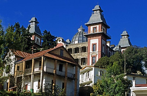 Historical Prime minister's palace in Antananarivo, Madagascar