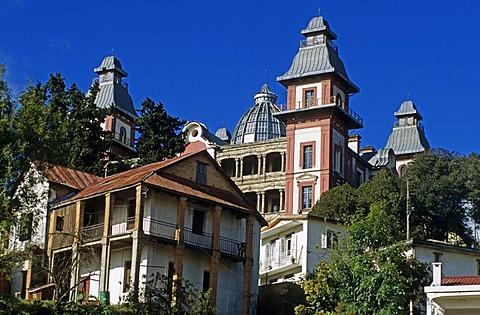 Historical Prime minister's palace in Antananarivo, Madagascar