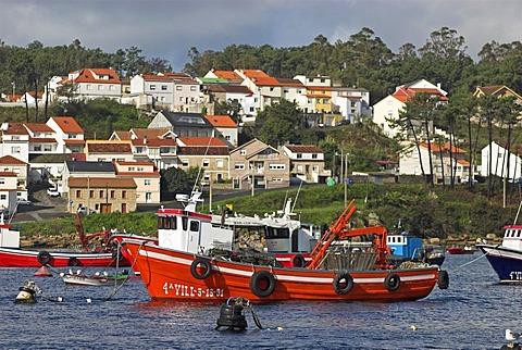 Port of Vilagarcia de Arousa, Galicia, Spain, Europe