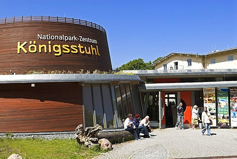 Visitor Center of Jasmund National Park, Ruegen island, Mecklenburg Western Pomerania, Germany, Europe