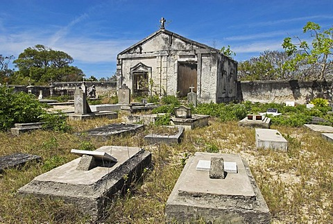 Historic Cemetery of Ibo Island, Quirimbas islands, Mozambique, Africa