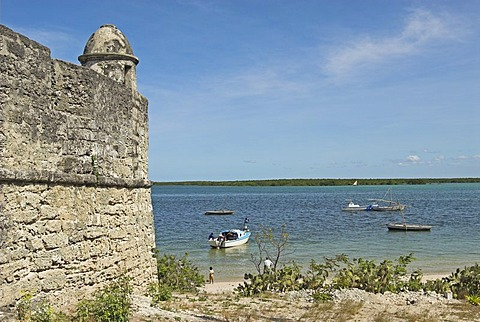 Portuguese fortress at Ibo Island, Quirimbas islands, Mozambique, Africa