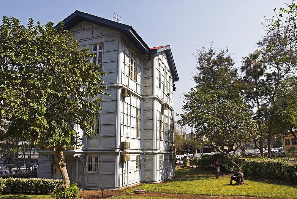 Iron house, Casa de Ferro, of Gustave Eiffel, Maputo, Mozambique, Africa