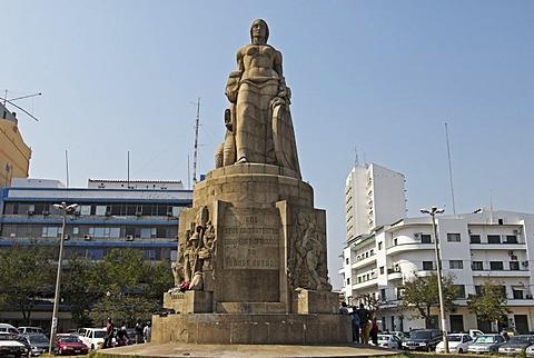 Monument at Praca dos Trabalhadores, Maputo, Mozambique, Africa