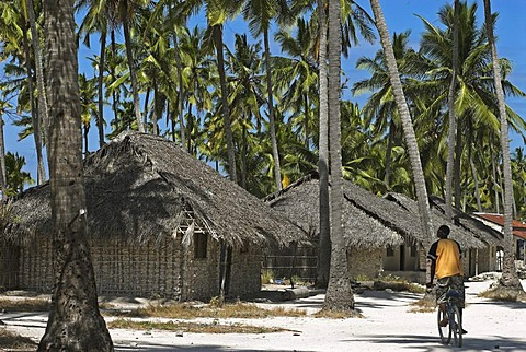 Fishing village, Matemo island, Quirimbas islands, Mozambique, Africa