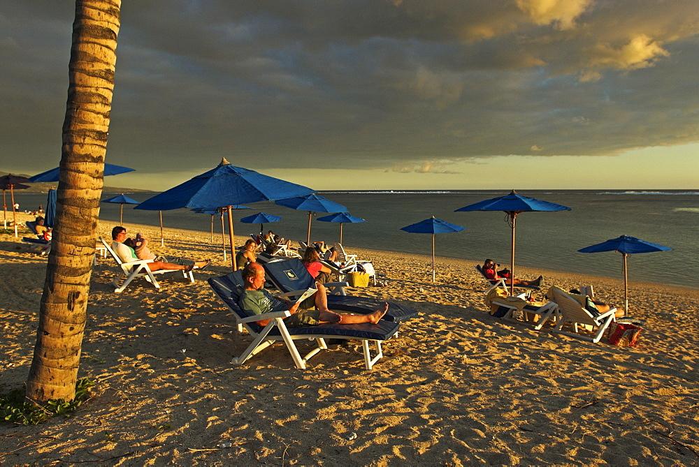Beach at St. Gilles-les-Bains, La Reunion Island, France, Africa