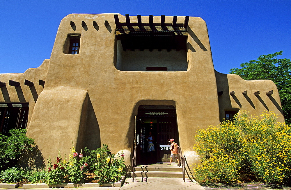 Museum of Fine Arts, Santa Fe, New Mexico, USA, America