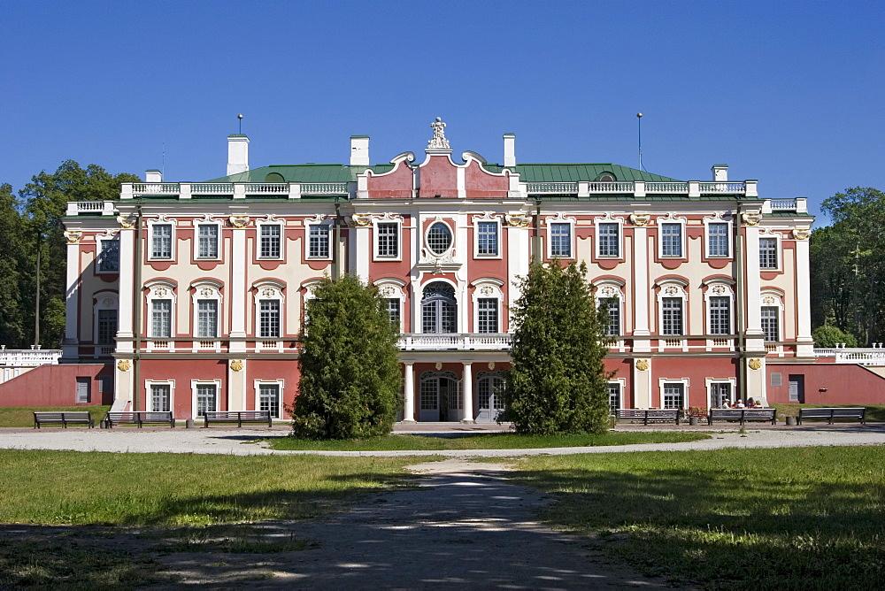 Kadriorg Palace in Tallinn, Estonia, Europe - 832-299934