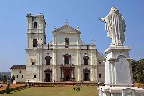 Se Cathedral, Old Goa, India