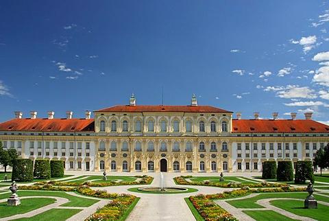New Schleissheim Palace, West Side, Oberschleissheim, Upper Bavaria, Bavaria, Germany