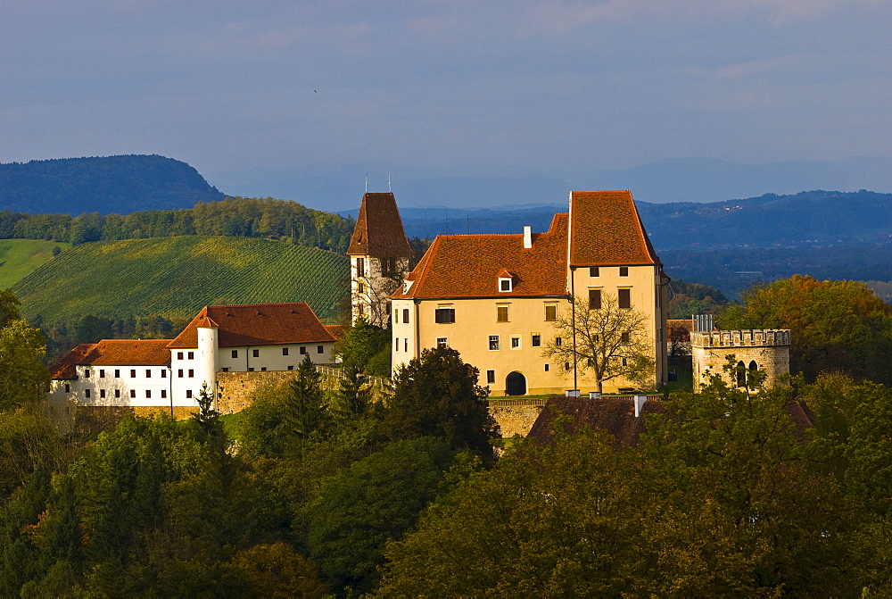 Seggau Castle, Styria, Austria, Europe