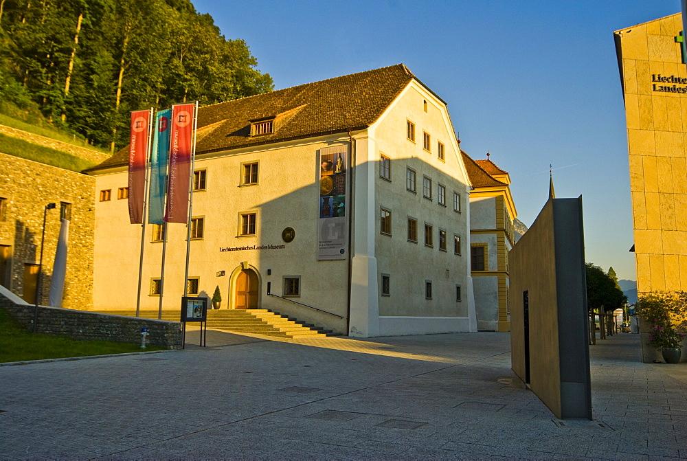 Liechtensteinisches Landesmuseum (Liechtenstein Museum), Vaduz, Liechtenstein, Europe