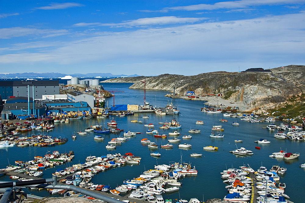 Ilulissat Harbour, Greenland, North Atlantic