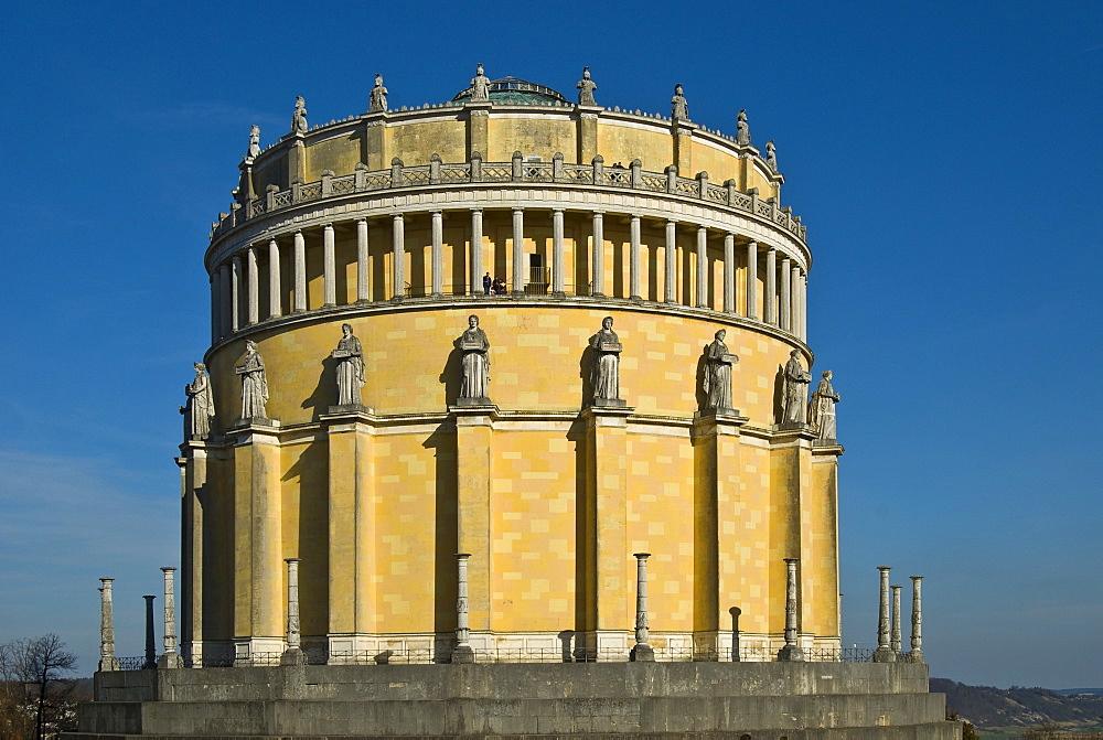Walhalla Hall of Fame and Honor, Kelheim, Lower Bavaria, Bavaria, Germany, Europe