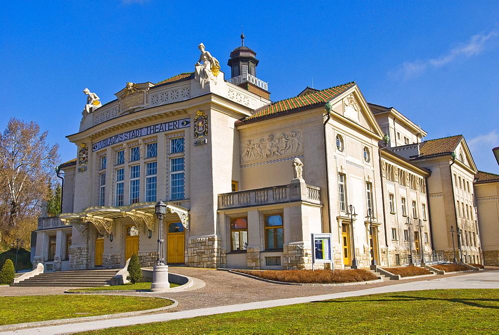 City theatre, Stadttheater in Klagenfurt, Carinthia, Austria