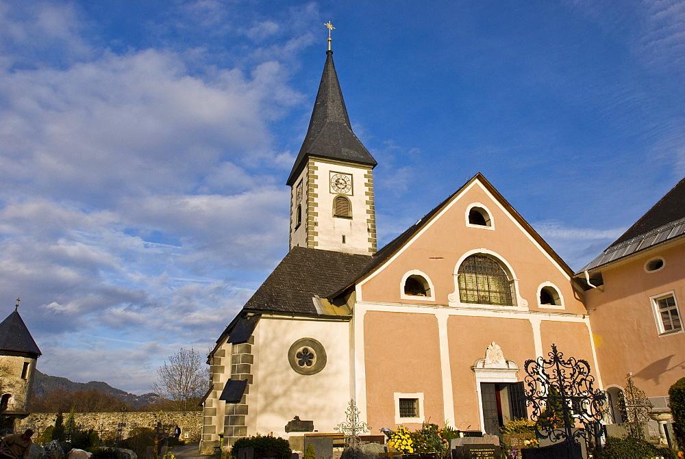 Maria Himmelfahrt Church, Ossiach, Carinthia, Austria