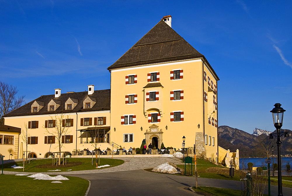 Fuschl Castle, Salzkammergut, Salzburg State, Austria