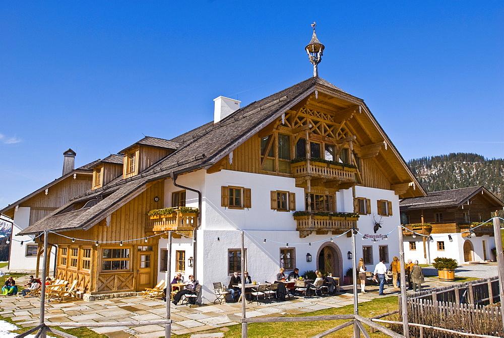 Winterstellgut Hotel and Restaurant, Annaberg, Tennen Mountains, Salzburg State, Austria