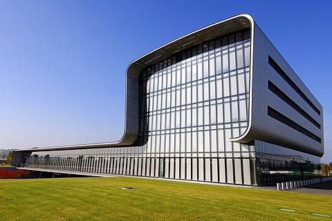 Watch factory Vacheron Constantin, Architect Bernard Tschumis, Plan-Les-Ouates, Geneva, Switzerland