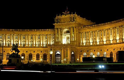 Austrian National Library, Hofburg, Vienna, Austria