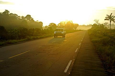 On the Trans-Amazonian Highway, Amazon region, Brazil