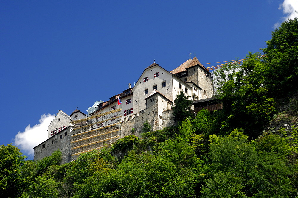 Castle of Vaduz, Principality of Liechtenstein