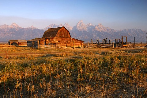 Moulton Farm, Grand Teton National Park, Wyoming, United States of America