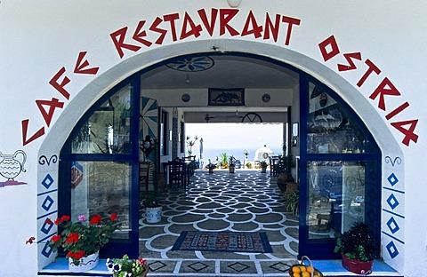 Tavern, Crete, Greece
