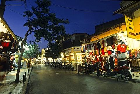 Streets in Heraklion, Crete, Greece