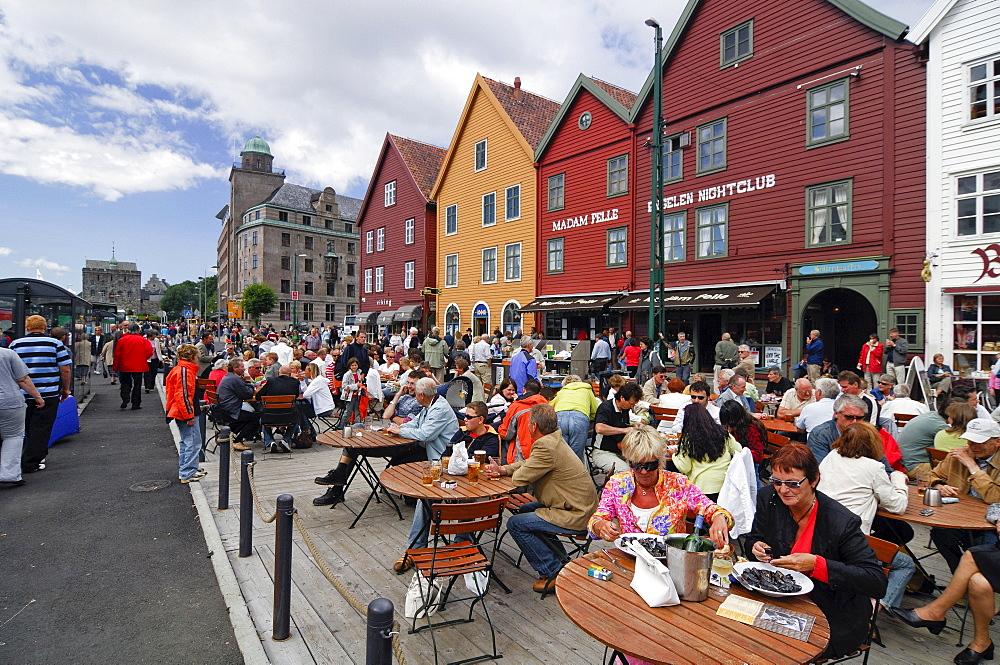 Brygge restaurant, Bergen, Norway, Scandinavia, Europe