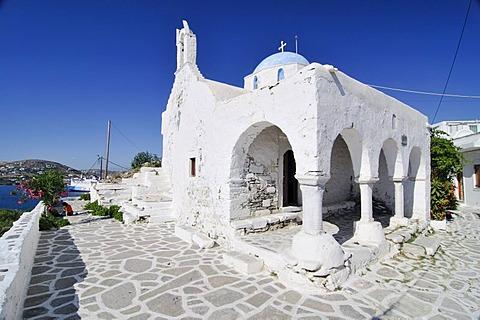 Church on Naxos, Cyclades, Greece, Europe