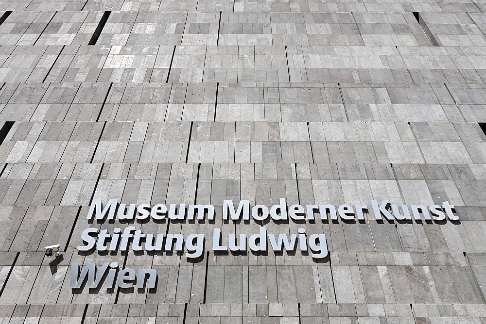 MUMOK Museum of Modern Art, Vienna, Austria, Europe