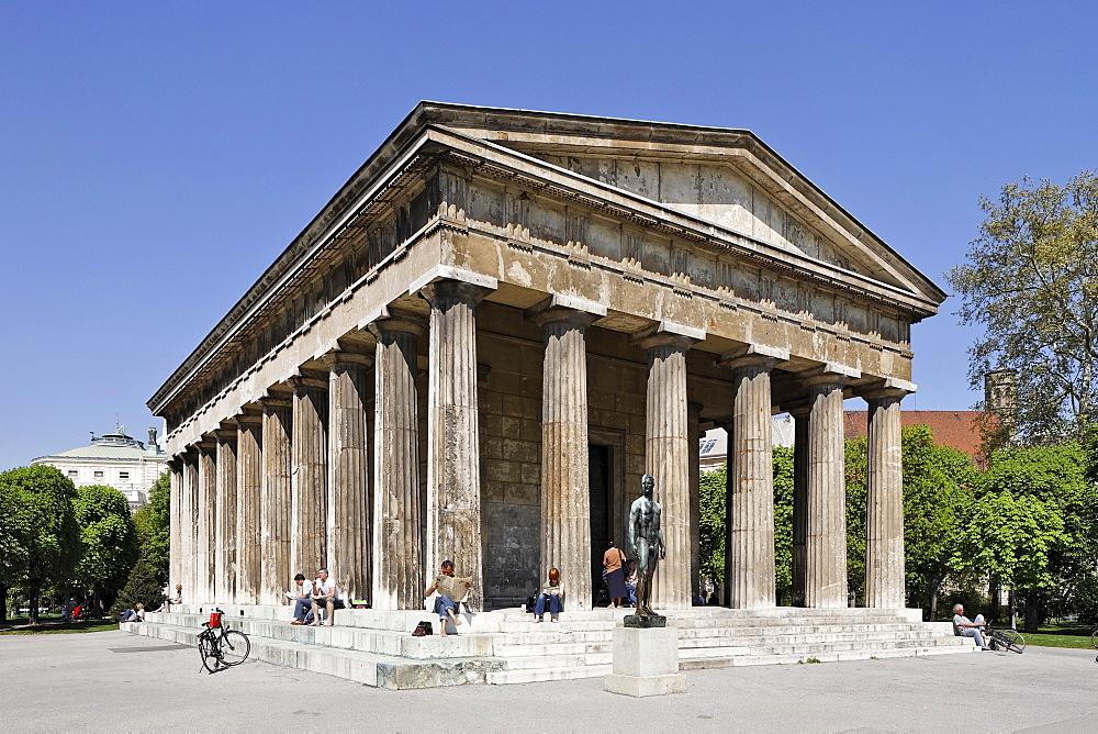 Theseus Temple at the Volksgarten, Vienna, Austria, Europe