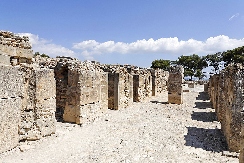 Phaistos Palace ruins from the Minoan period, Crete, Greece, Europe