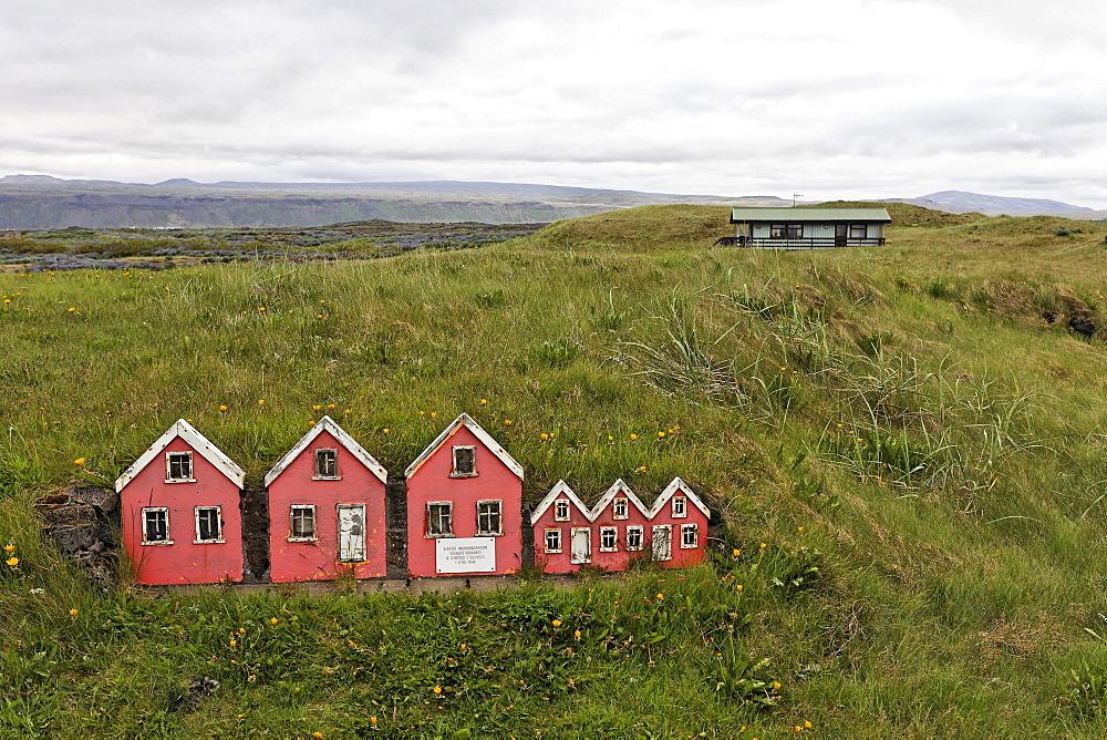 Fairy houses, Selvogur, Iceland, Atlantic Ocean