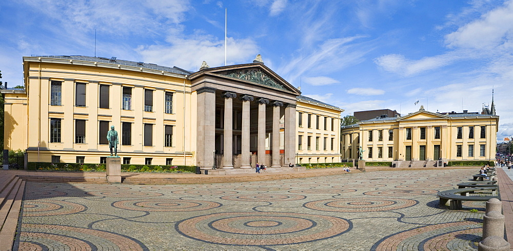 University, Oslo, Norway, Scandinavia, Europe