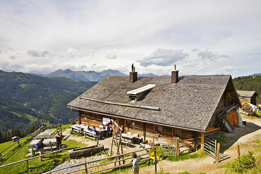 Grossellmaualm alpine pasture, Grossarltal, Salzburg, Austria, Europe